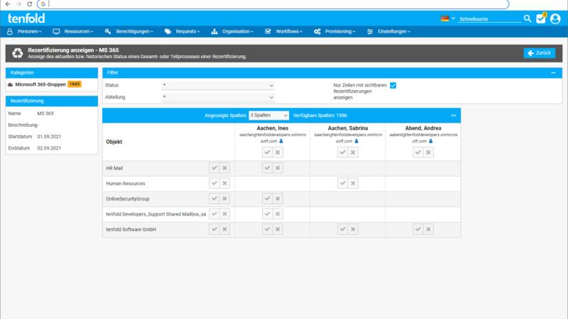 tenfold 2021 R2: Neues Plugin und erweiterte Microsoft® 365-Unterstützung für noch schnelleres Berechtigungsmanagement