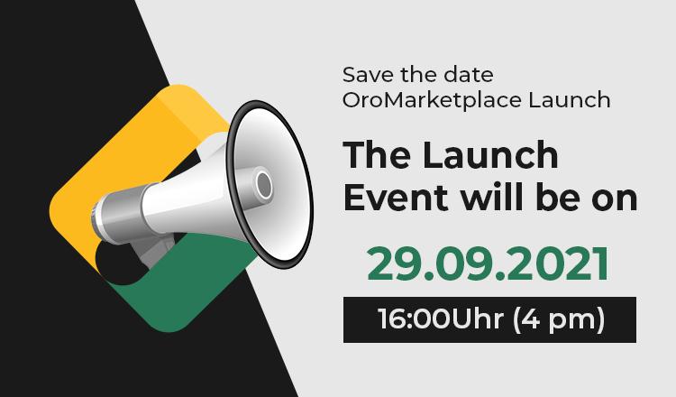 Online-Launch-Event OroMarketplace