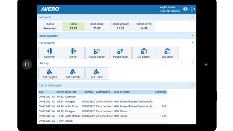AVERO® Version 11.0: Neue Optik und viele neue Funktionen