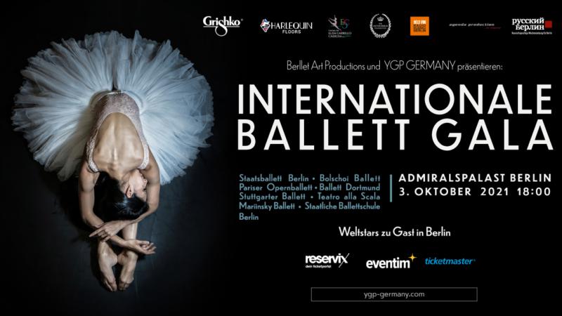 Internationale Ballett Künstler fördern junge Tänzer:innen