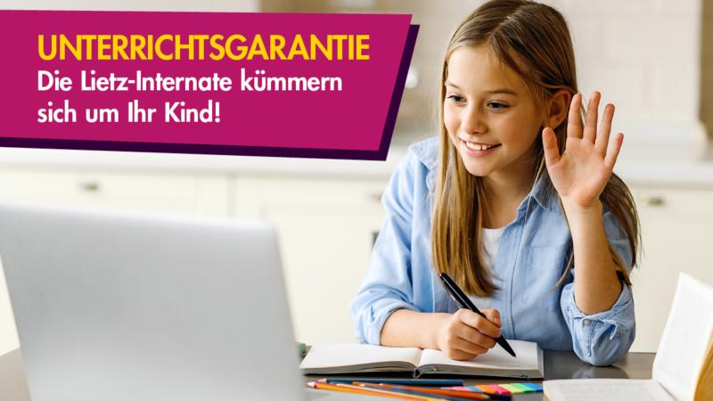 Unterrichtsgarantie – die Lietz-Internate kümmern sich um ihr Kind!