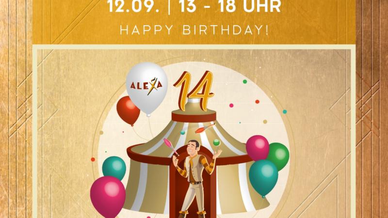 Das ALEXA lädt am 12. September zum verkaufsoffenen Sonntag