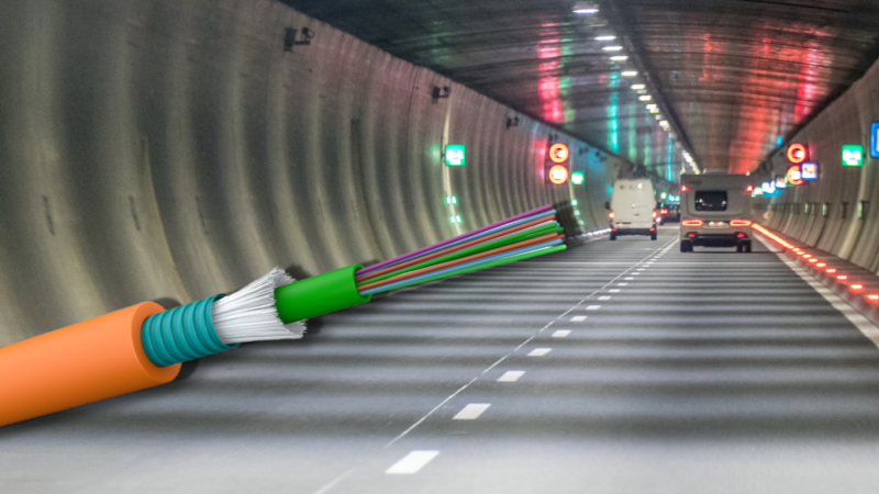 New fire protection cables Draka R01 and R02: lightweight and cost-effective