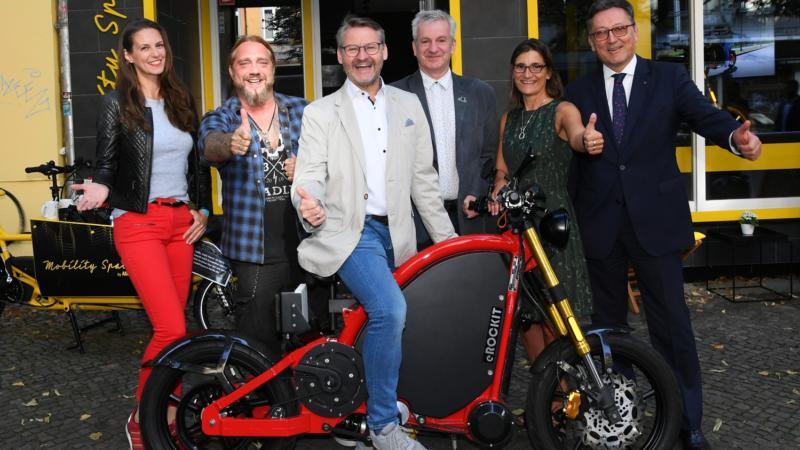 Das Zweirad der Zukunft: eROCKIT meets Mobility Space by ADAC