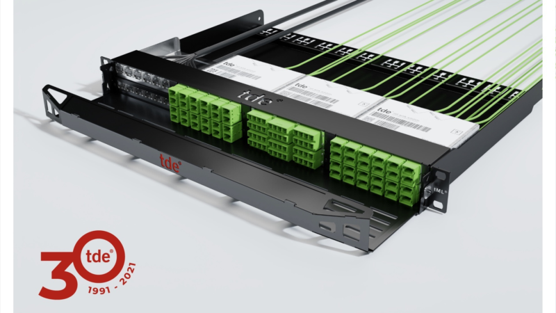 tde presents redesign of tML rack mount enclosure for fixed installation
