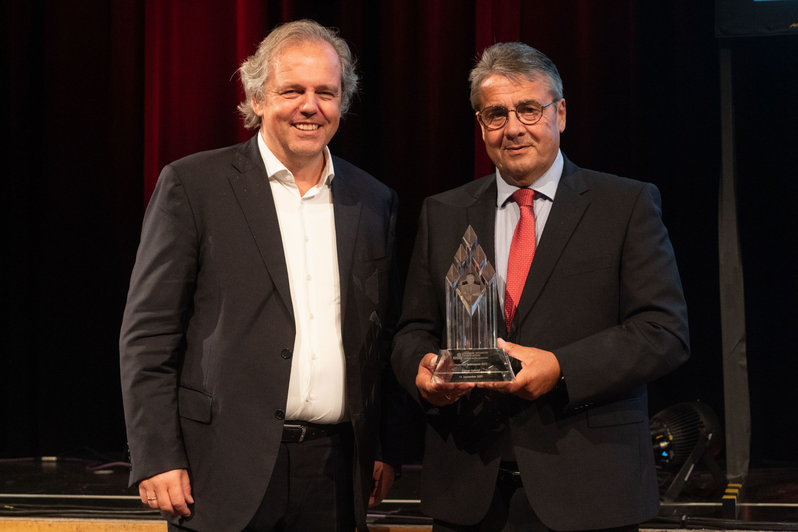 Verleihung des Deutschen Rednerpreises und weitere Auszeichnungen und Würdigungen beim Jahreskongress der German Speakers Association