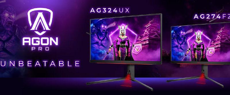 Alles für ein legendäres Gameplay: AGON PRO eSports-Monitore mit HDR, HDMI 2.1 und 1 ms GtG