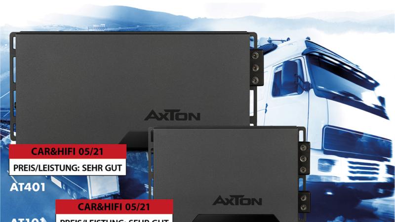 Stunning power performance – AXTON amplifiers for trucks