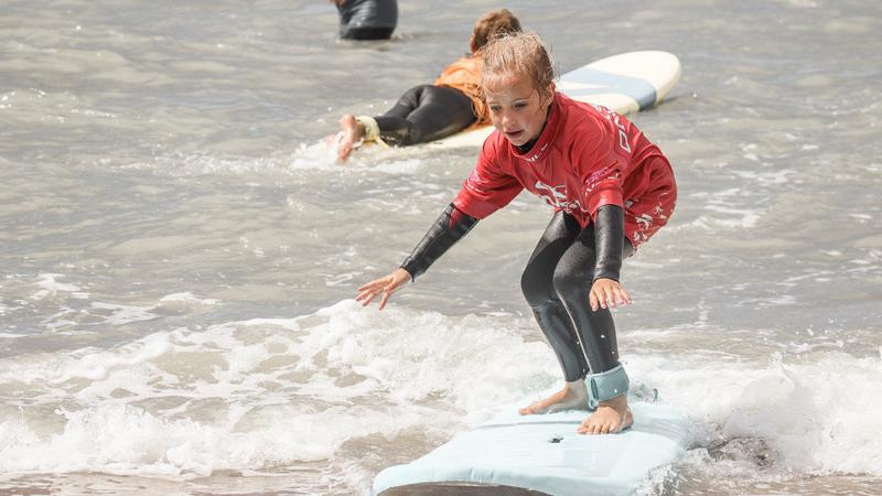 Perfekte Welle: Im Herbst bietet Zandvoort beste Wassersport-Bedingungen