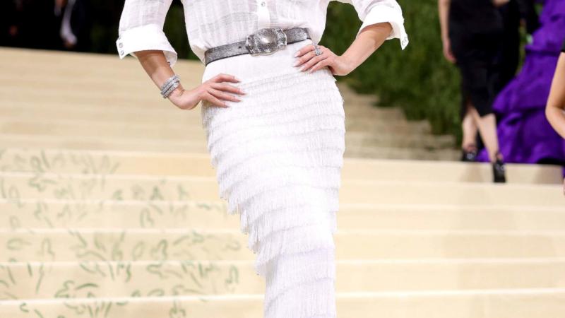 Lily Aldridge Met Gala 2021 –  Stylingtipps von Moroccanoil Celebrity Hairstylist Bryce Scarlett