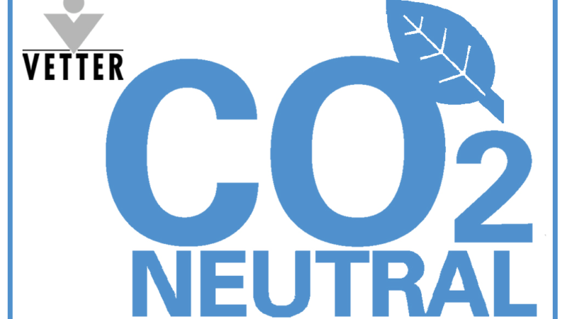 Vetter's Contribution to Climate Protection: Corporate Sites Around the World are CO2-Neutral