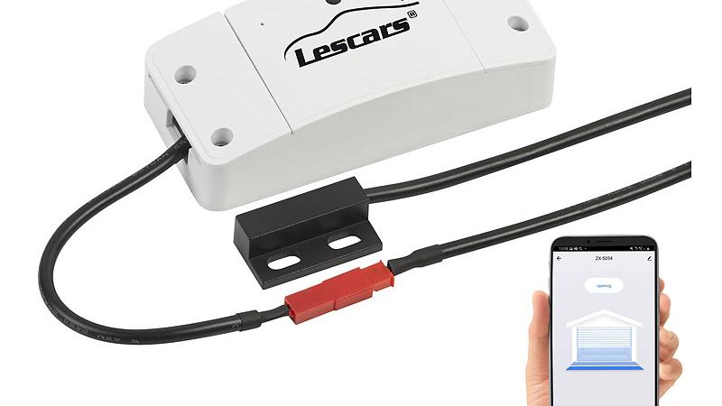 Lescars WLAN-Garagentor-Steuerung WGS-20 mit App