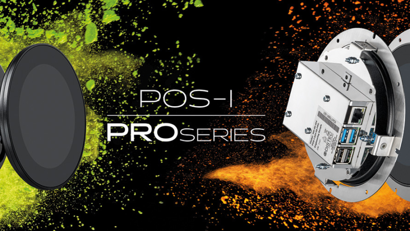 Now it's round: Distec presents round display modules POS-I-PRO