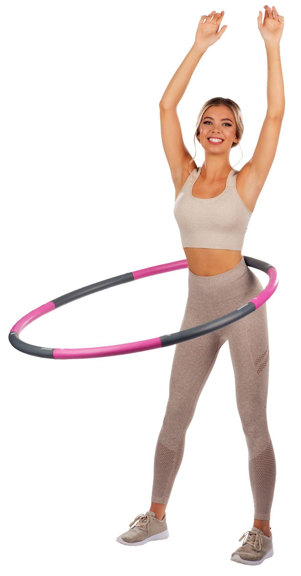 PEARL sports Hula-Hoop-Reifen mit Schaumstoff-Ummantelung