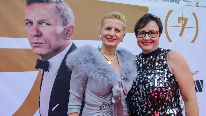 Haus der Braut & Gentleman auf der 007 GALA James Bond – Keine Zeit zu sterben