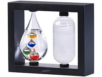 Carlo Milano 2in1-Galileo-Thermometer & Sturmglas