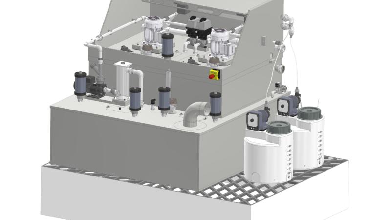 Kyoceras Neutralisationsanlagen sorgen für individuelle Realisierung und leichte Handhabung bei der Reinigung von Abwässern
